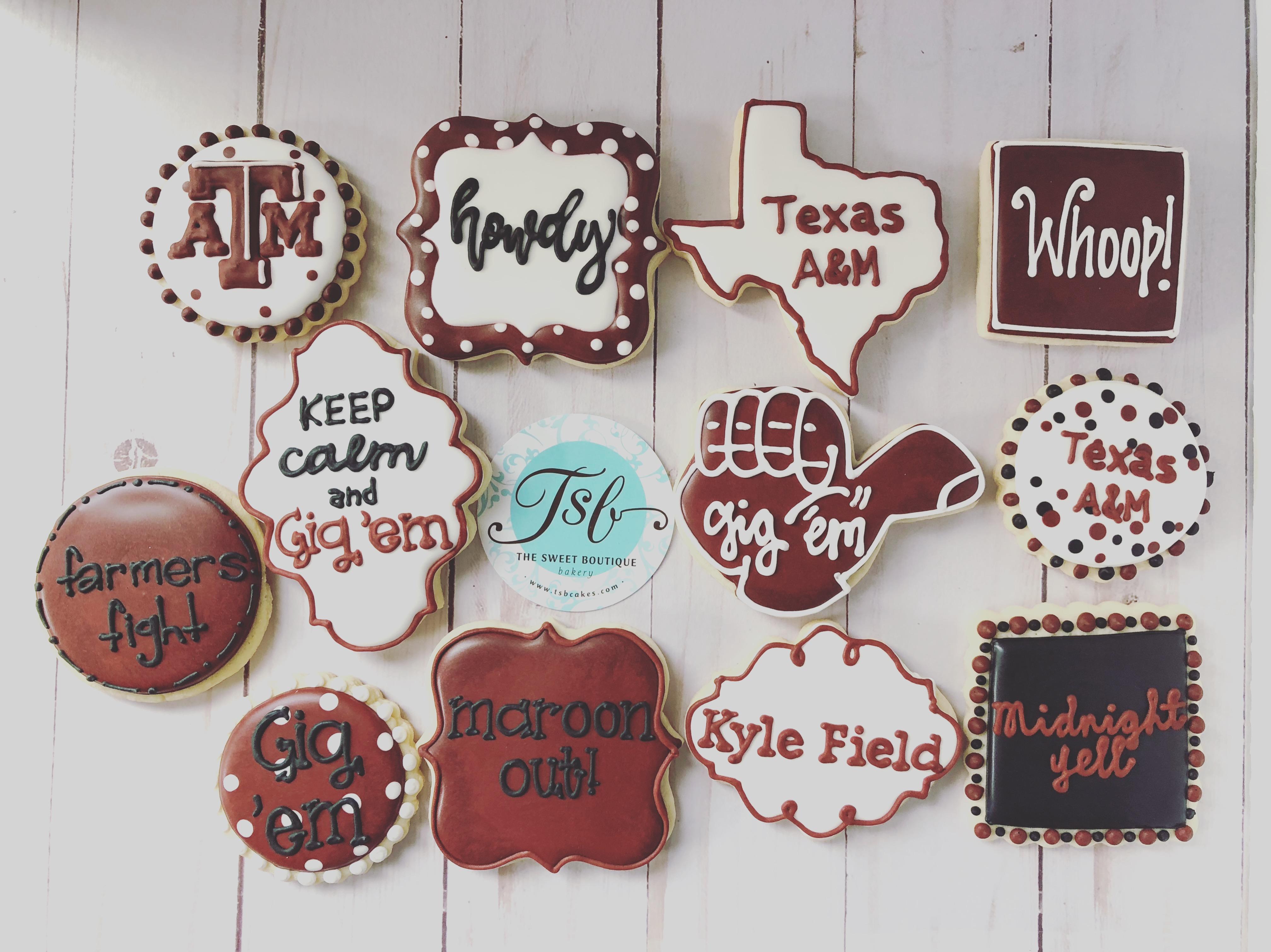 Texas Aggies Cookies