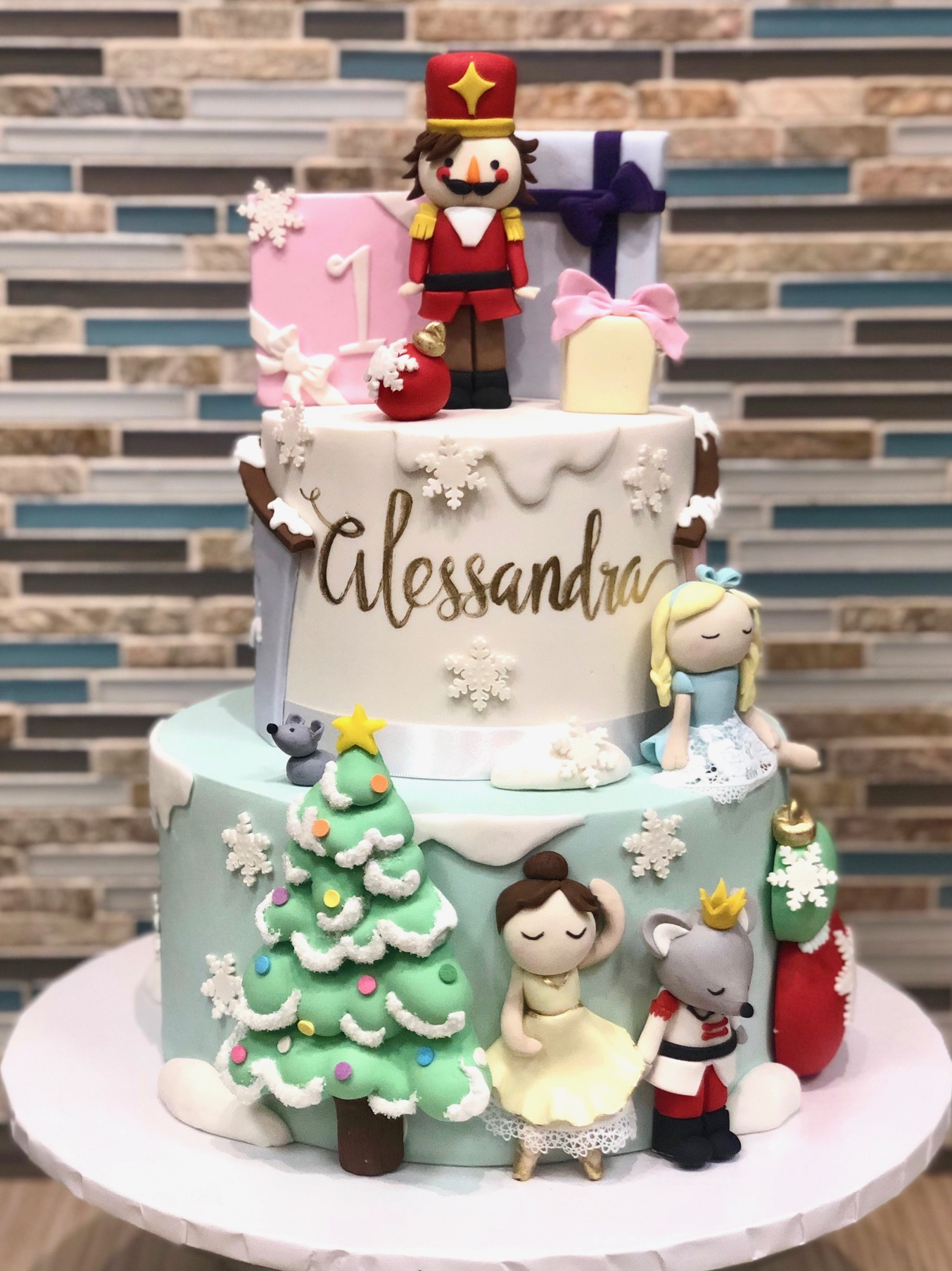 Nutcracker Ballet Birthday Cake