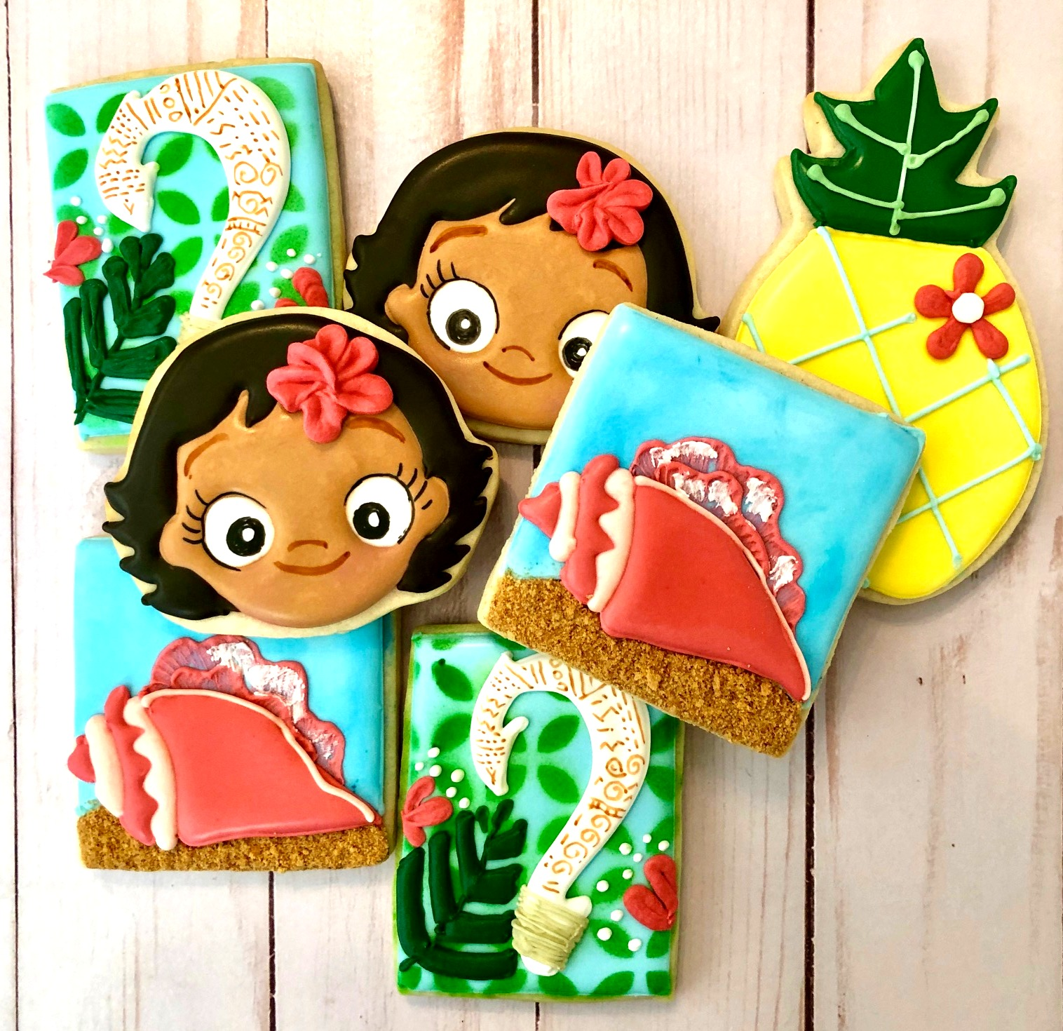 Moana Custom Cookies