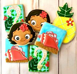 Moana Custom Cookies
