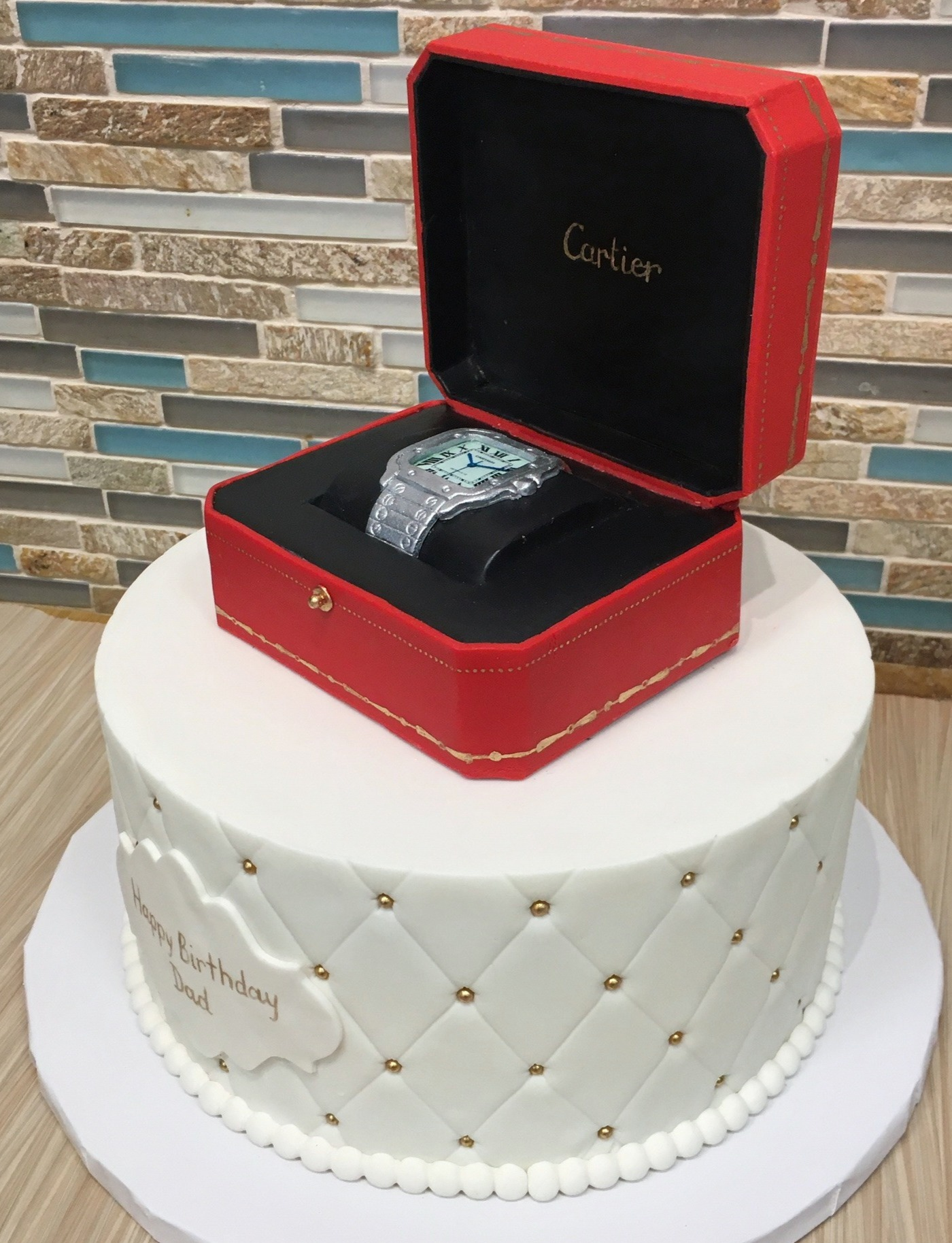 Cartier Watch Box Cake