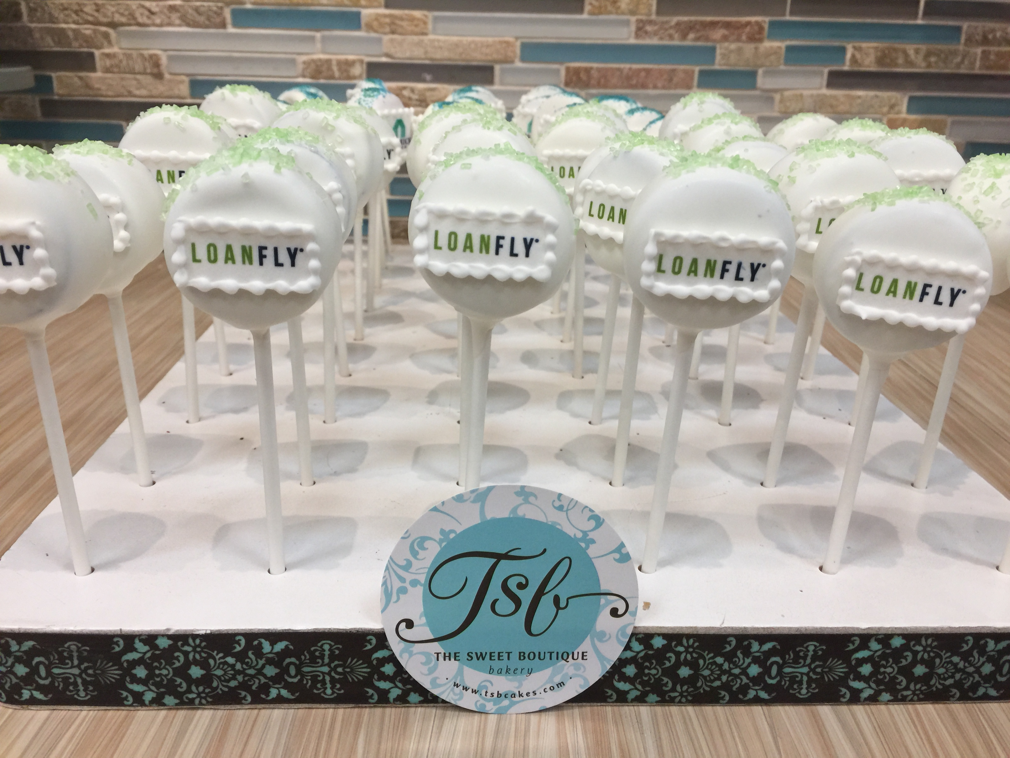 Custom Corporate Cake pops