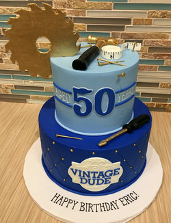Adult Disney Birthday Cake