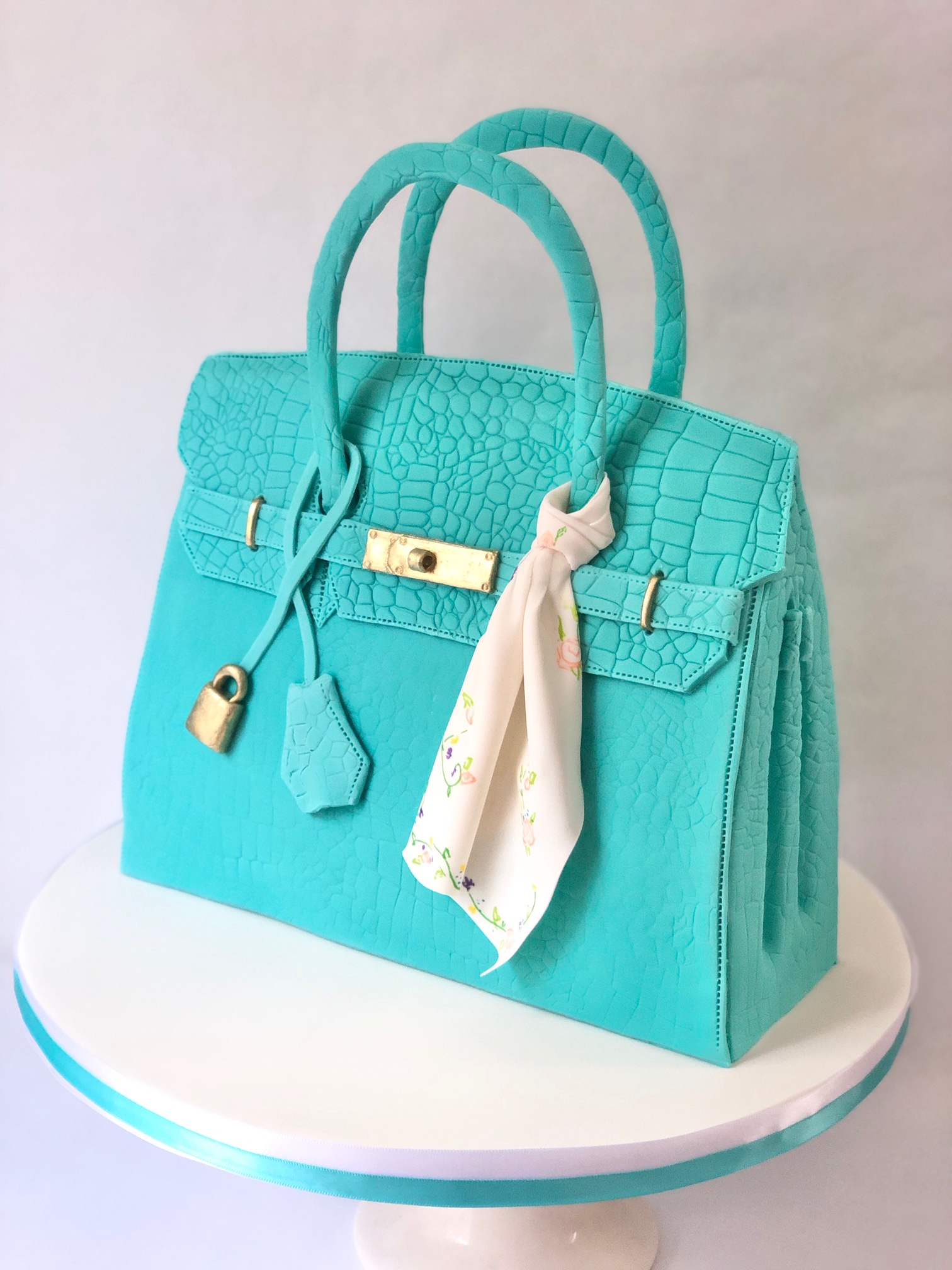 Hermes Purse Custom Cake