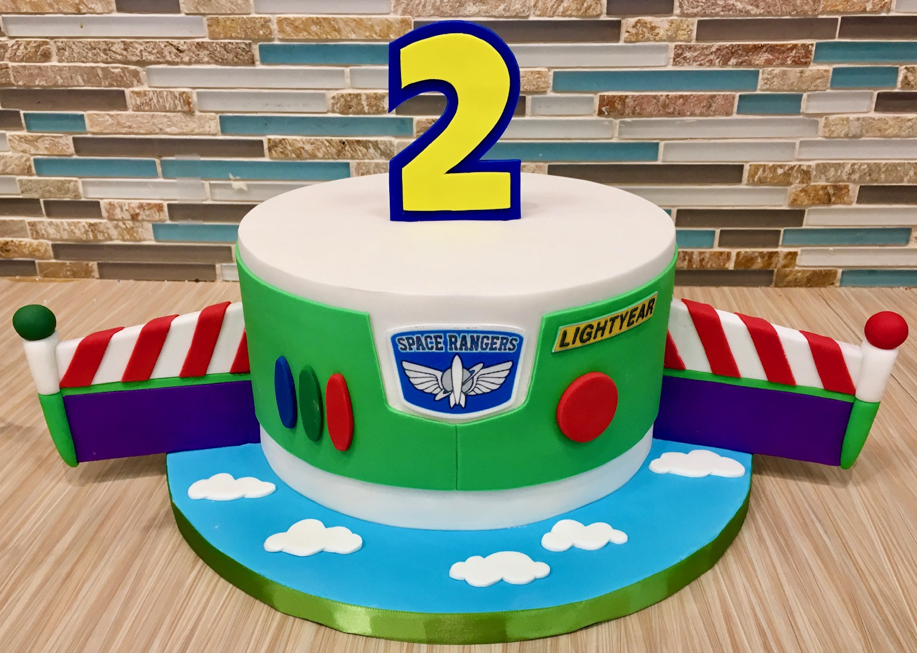 Buzz Lightyear Custom Cake