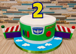 Buzz Lightyear Custom Cake