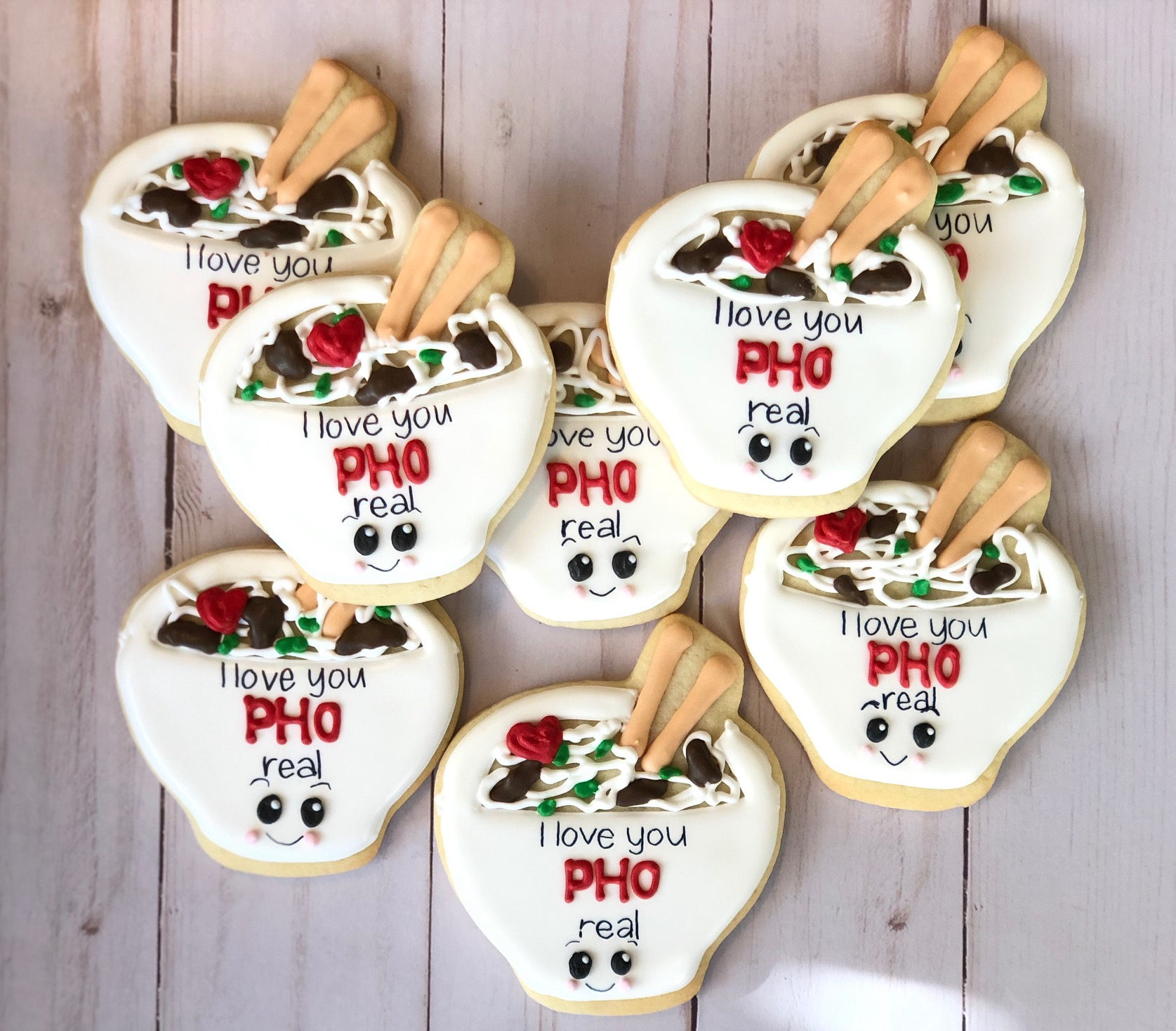 Pho Real Custom Cookies