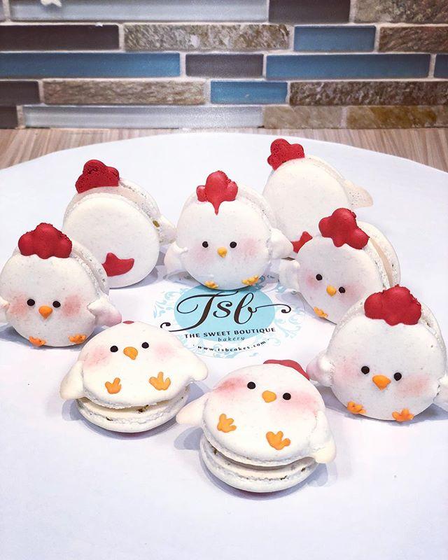 Chicken Macarons