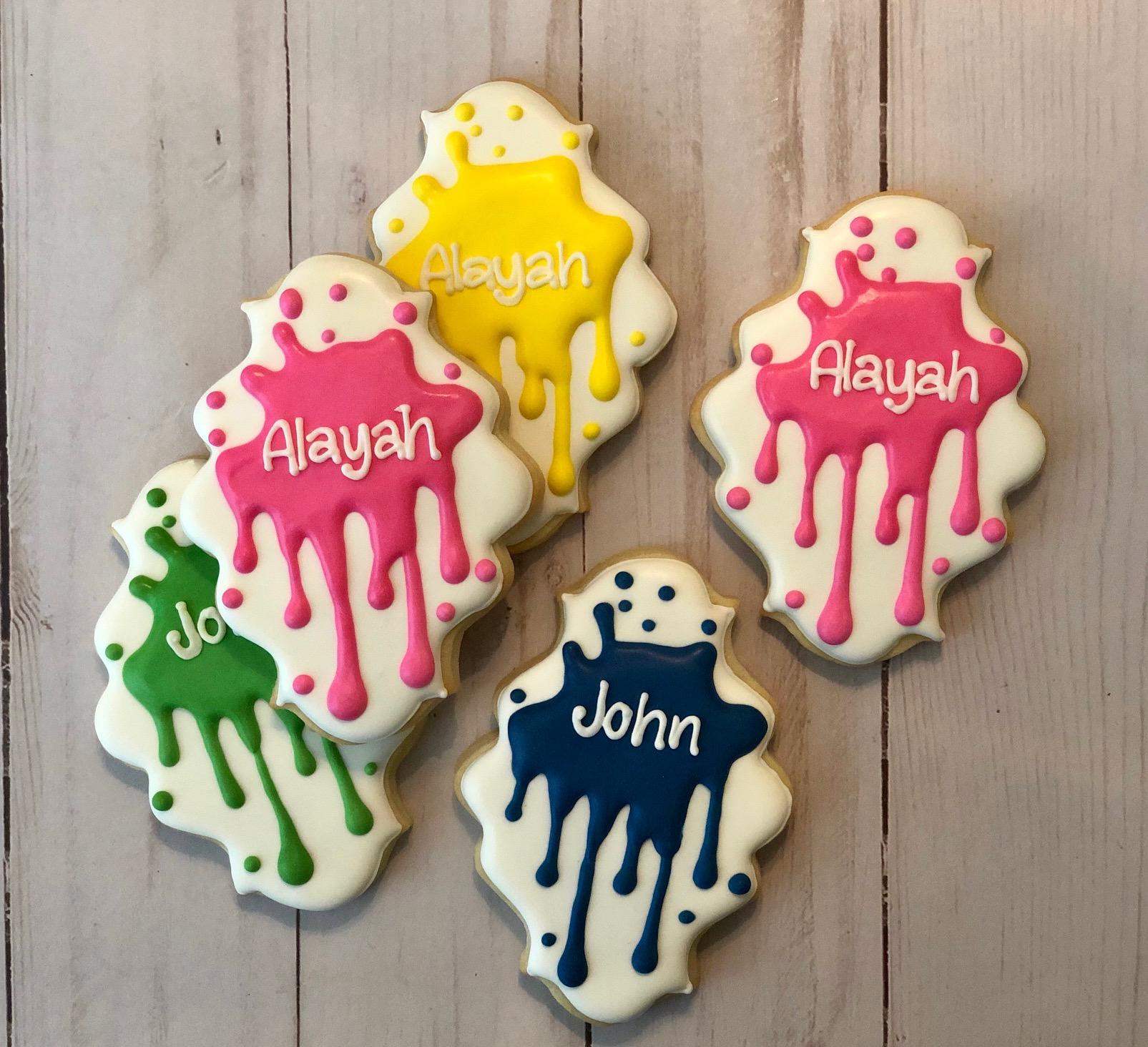 Slime Custom Cookies
