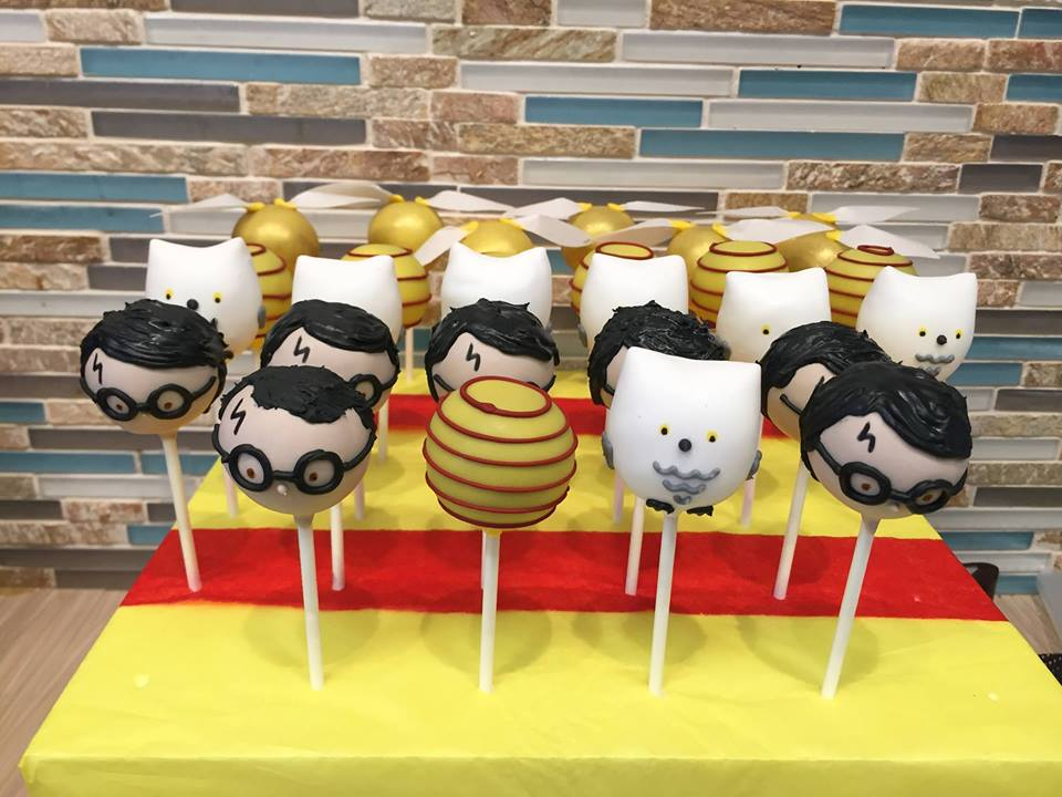 Harry Potter Cake pops