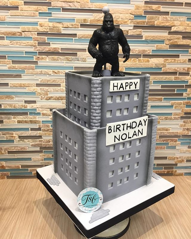 King Kong Birthday Cake