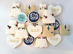 Wedding Day Cookies