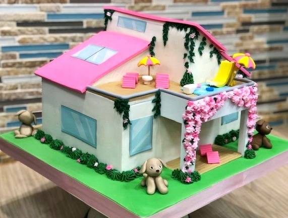 Barbie Dreamhouse Adventure Cake