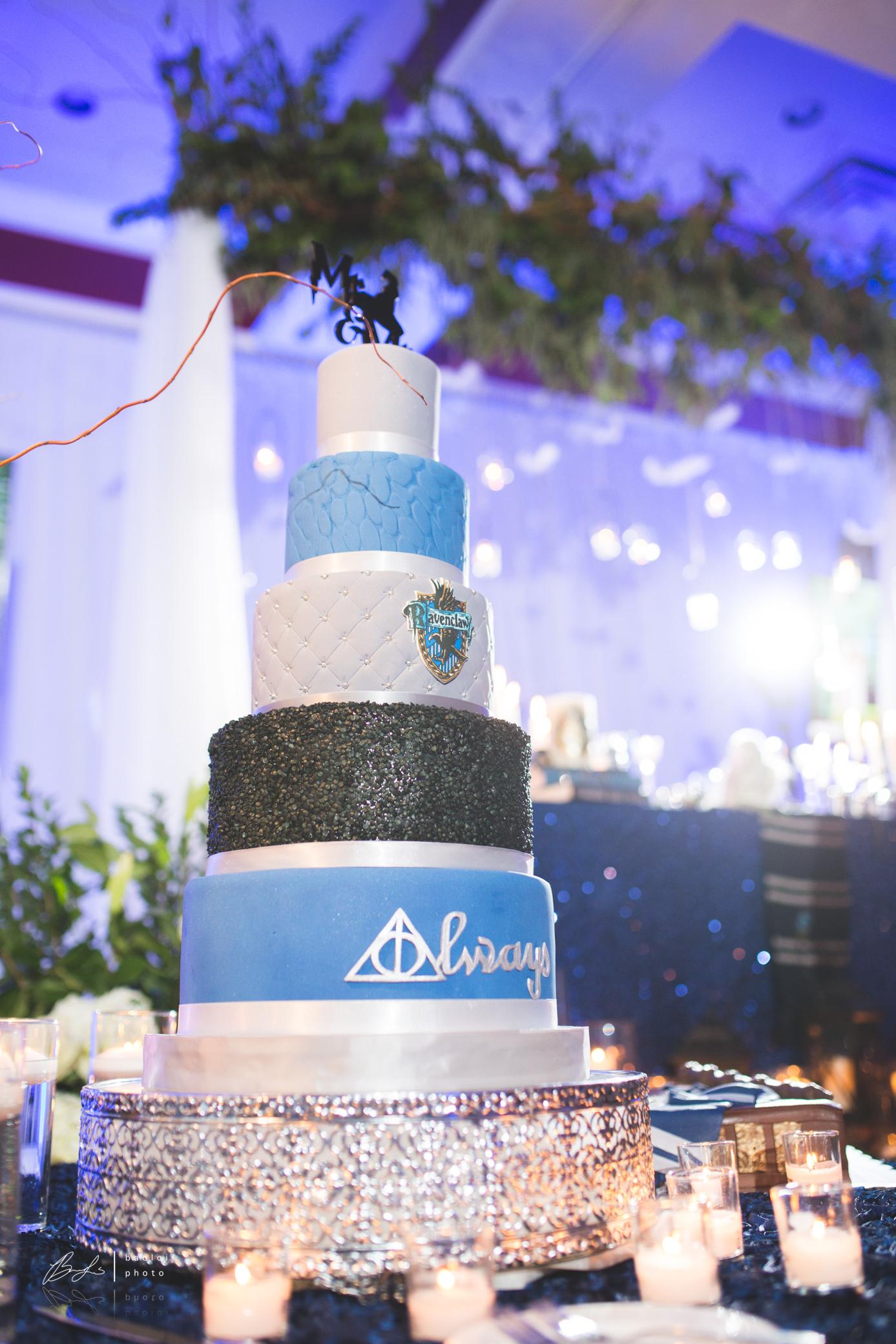 Harry Potter Wedding Cake Design