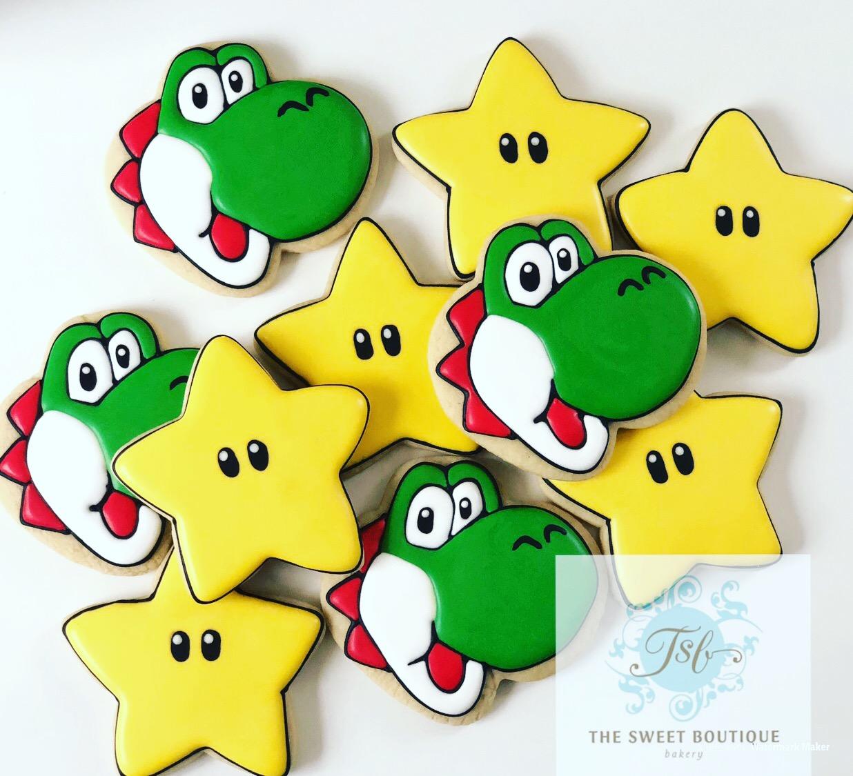 Yoshi Cookies