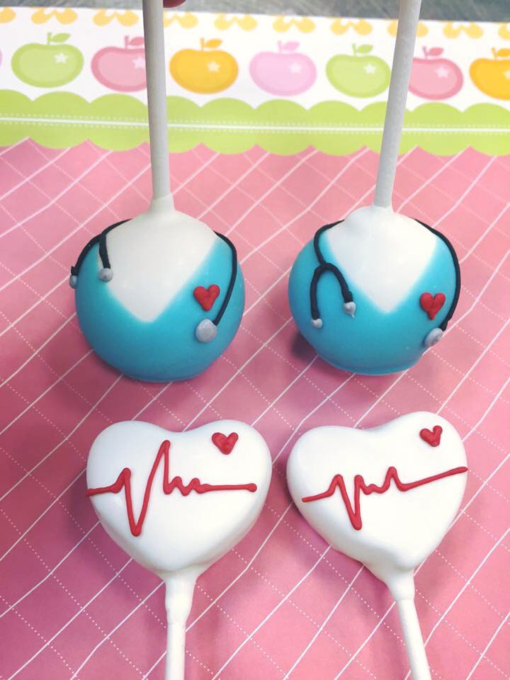 Nurses Week Cake Pops