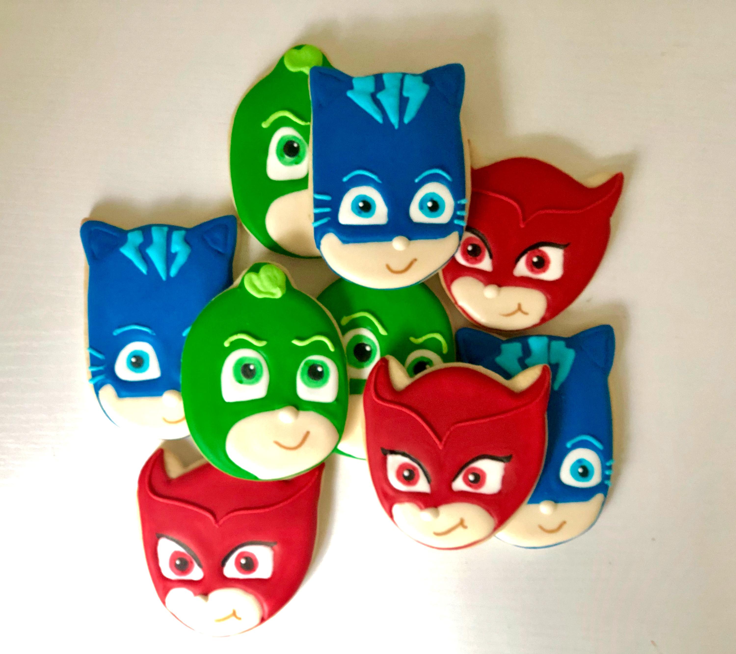 PJ Mask Cookies