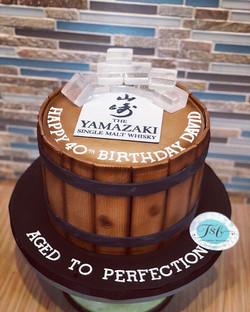 I really enjoyed making this cake.  Happ