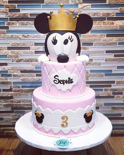 Happy 3rd birthday Sophie! #tsbcakes #bi