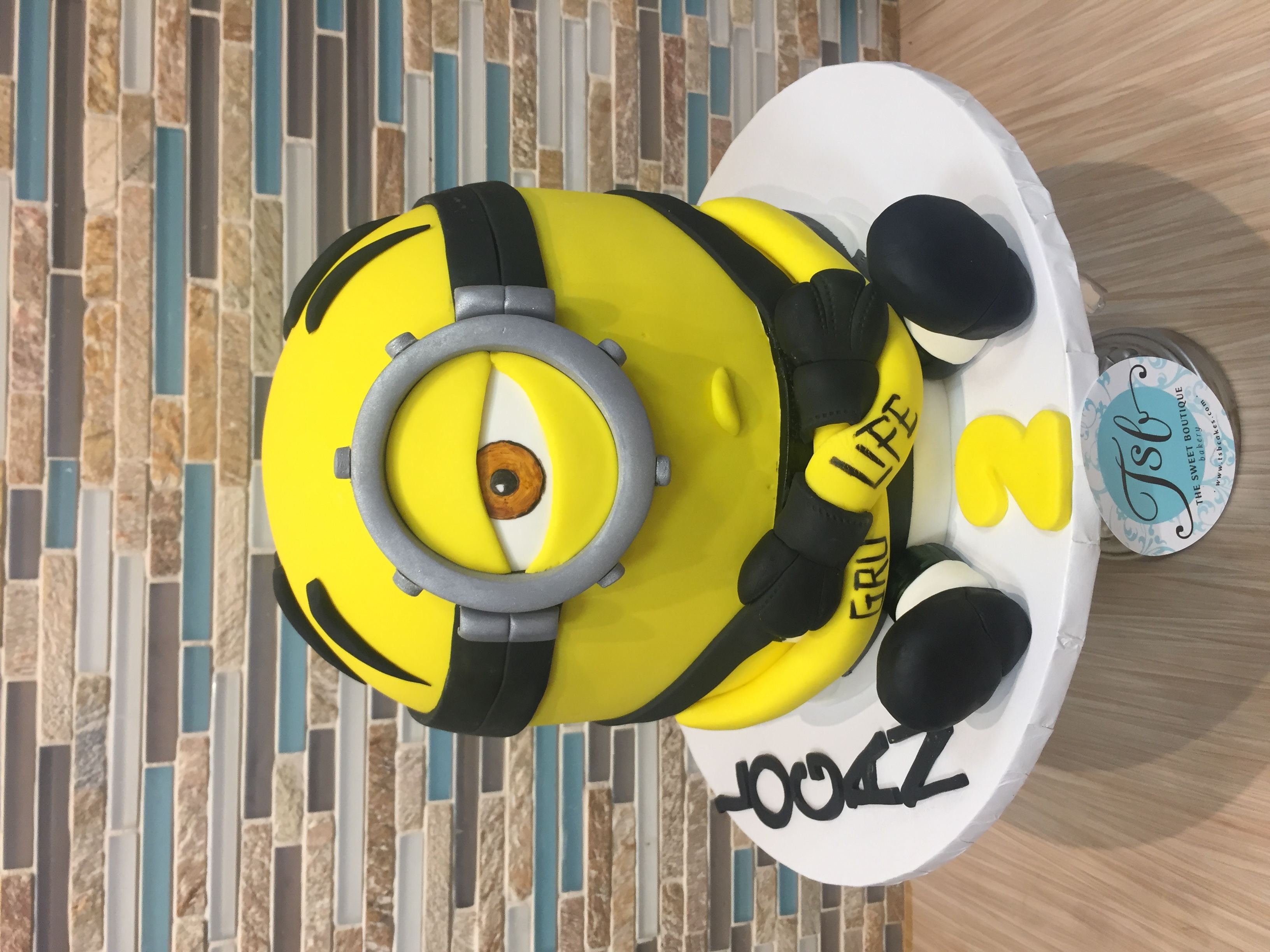 Prison Minion Birthday Cake