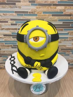 Prison Minion Birthday Cake