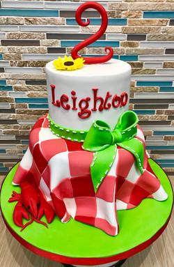 Picnic Birthday Cake
