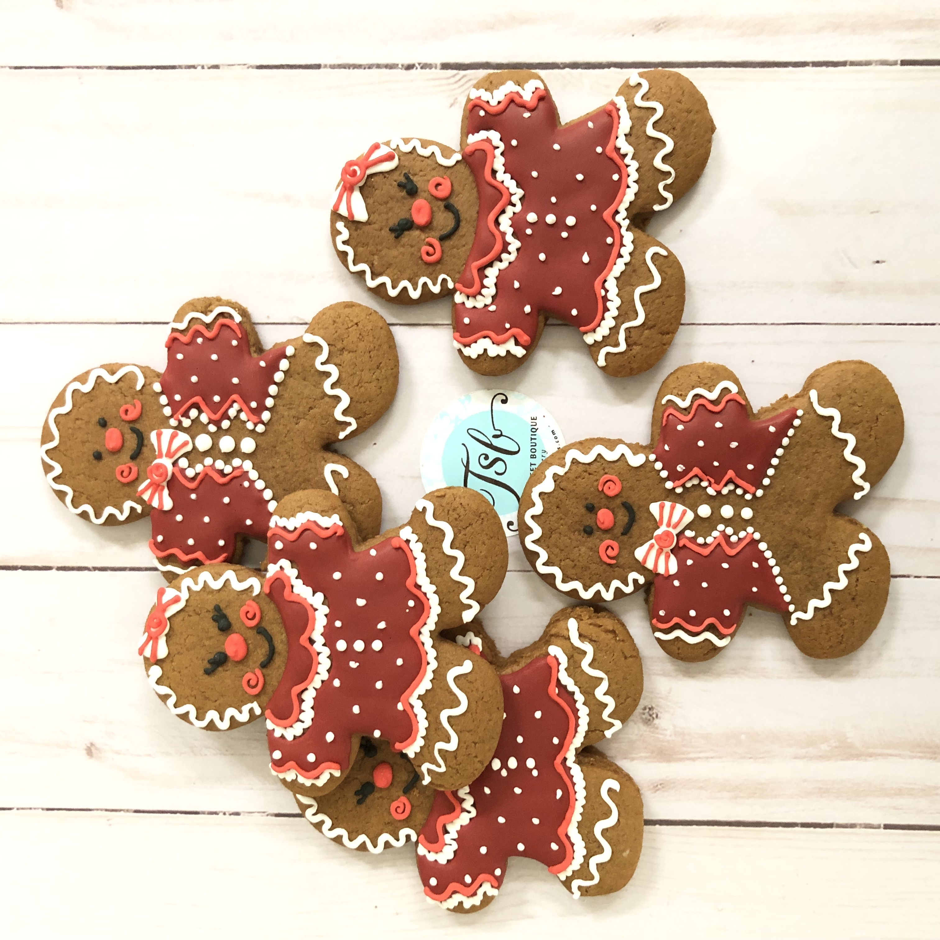Gingerbread Boy and Girl Cookies