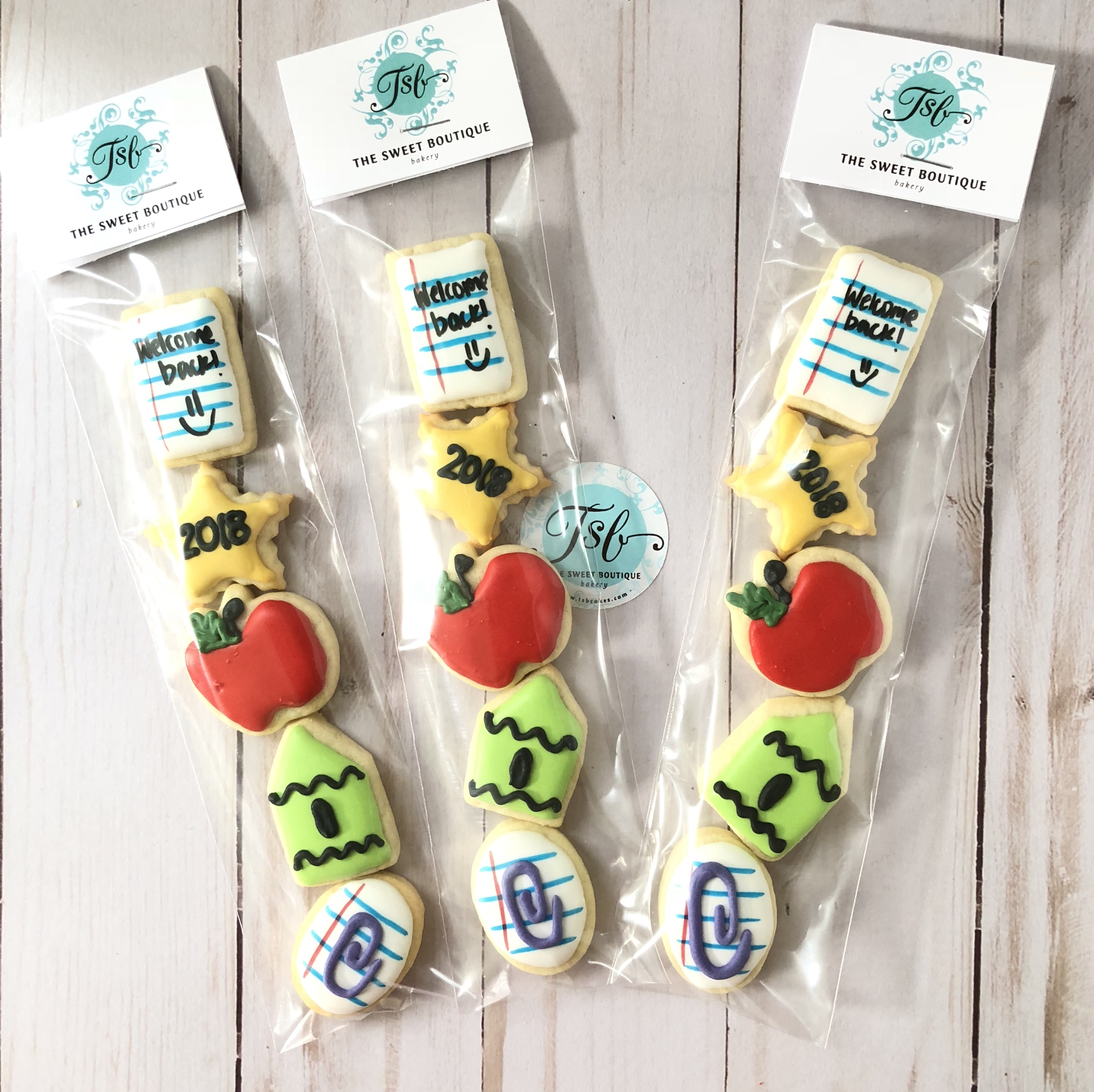 Back to School Mini Cookie Set