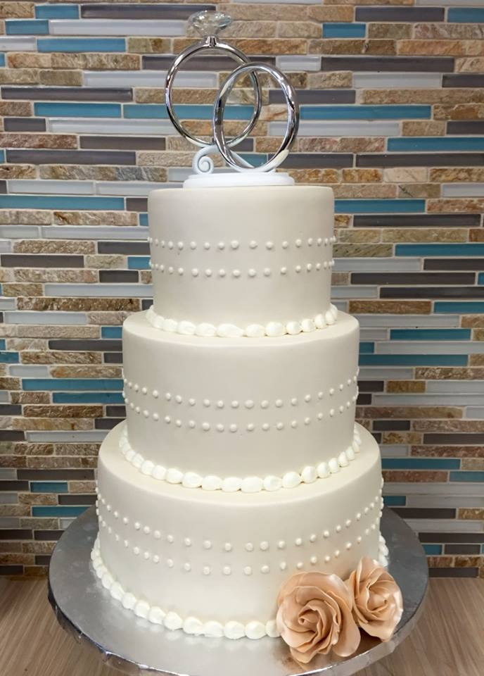 Buttercream Wedding Cake Design