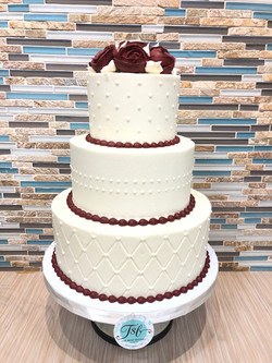 Buttercream Wedding Cake Design