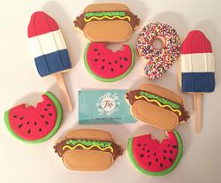 Summer's Fun Cookies