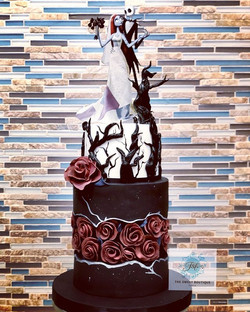 Wickedly Gorgeous Wedding Cake