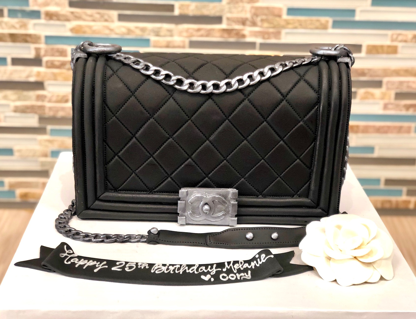 Chanel Boy Bag Custom Cake