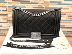 Chanel Boy Bag Custom Cake