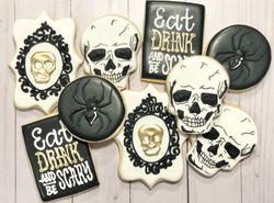 Halloween Party Custom Cookies