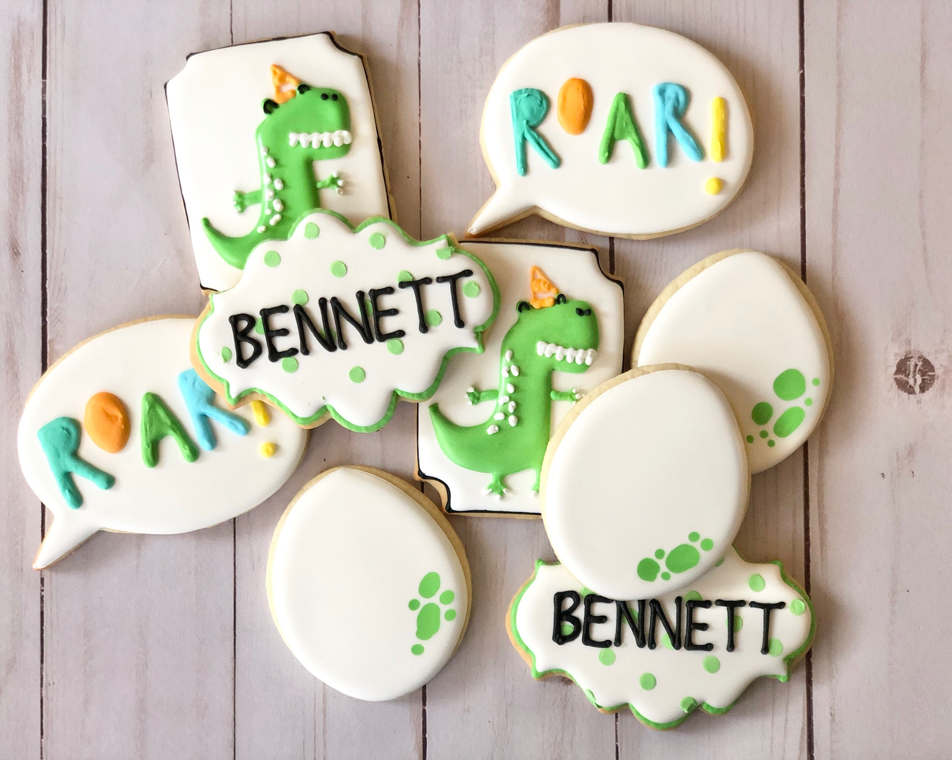 Fun Dinosaur Cookies