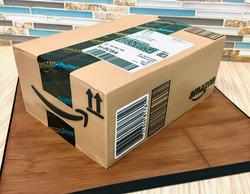Amazon Shipping Box Cake