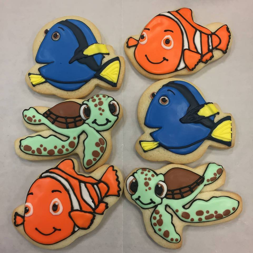 Finding Nemo Cookies