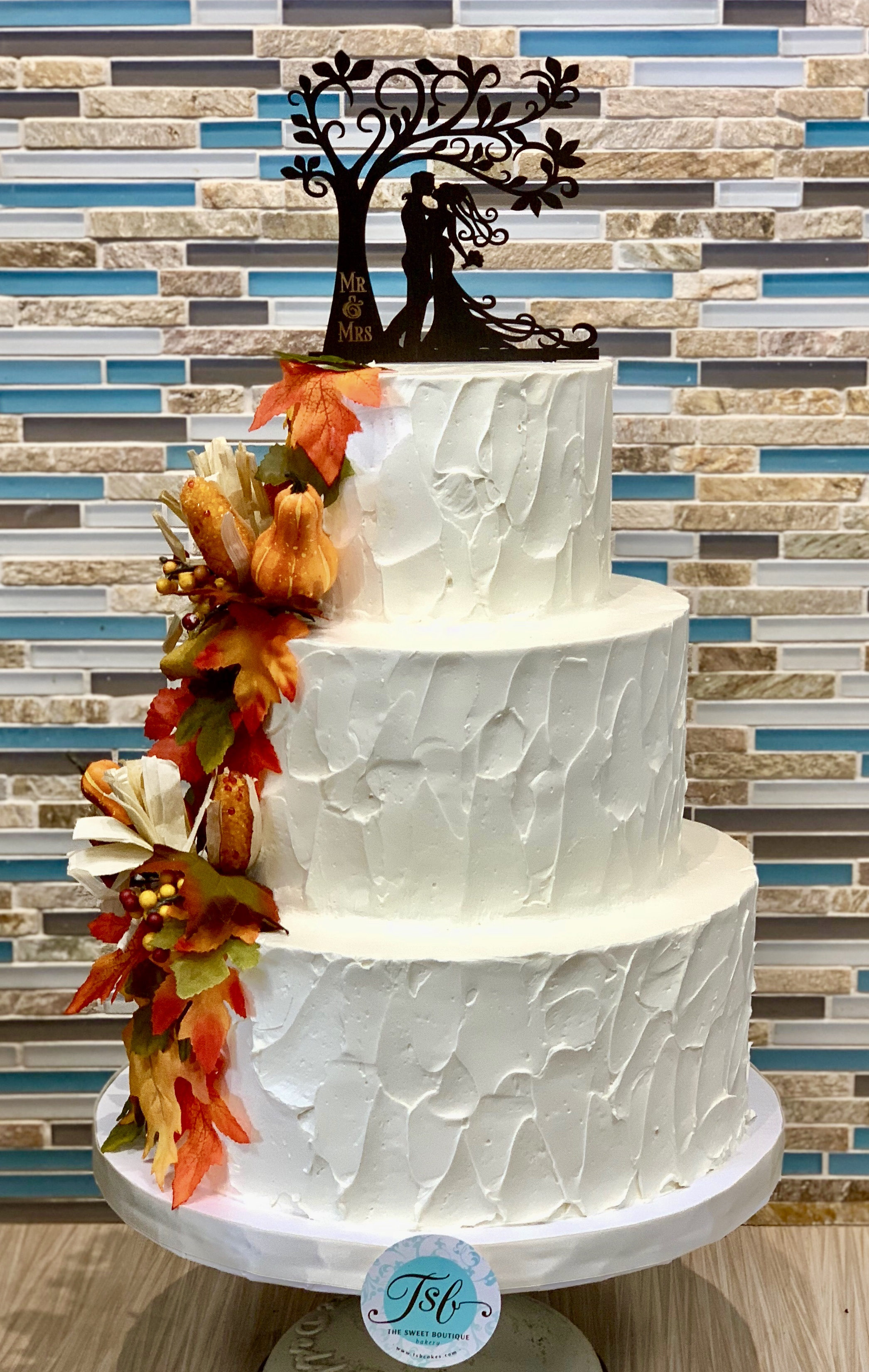 Rustic Wedding Cake Design