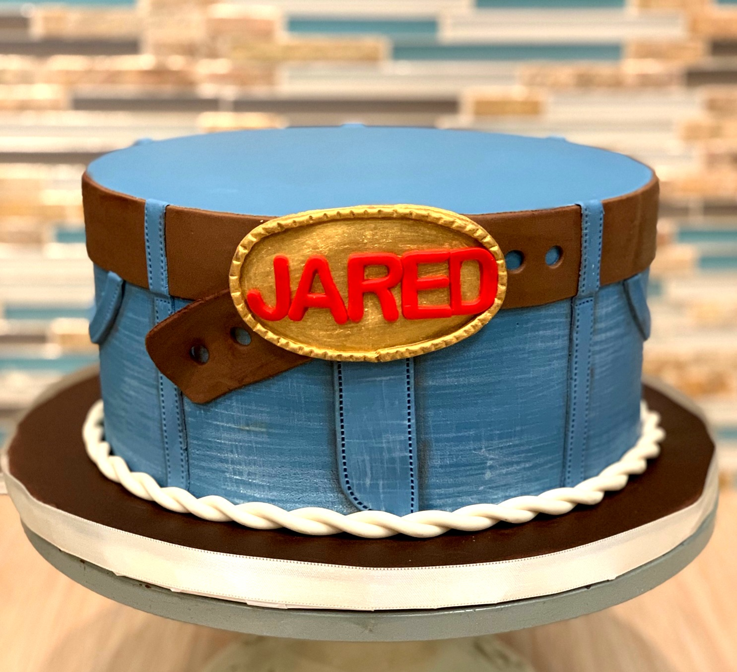 Jeans Birthday Cake