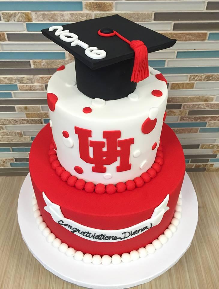 UH Graduation Cake