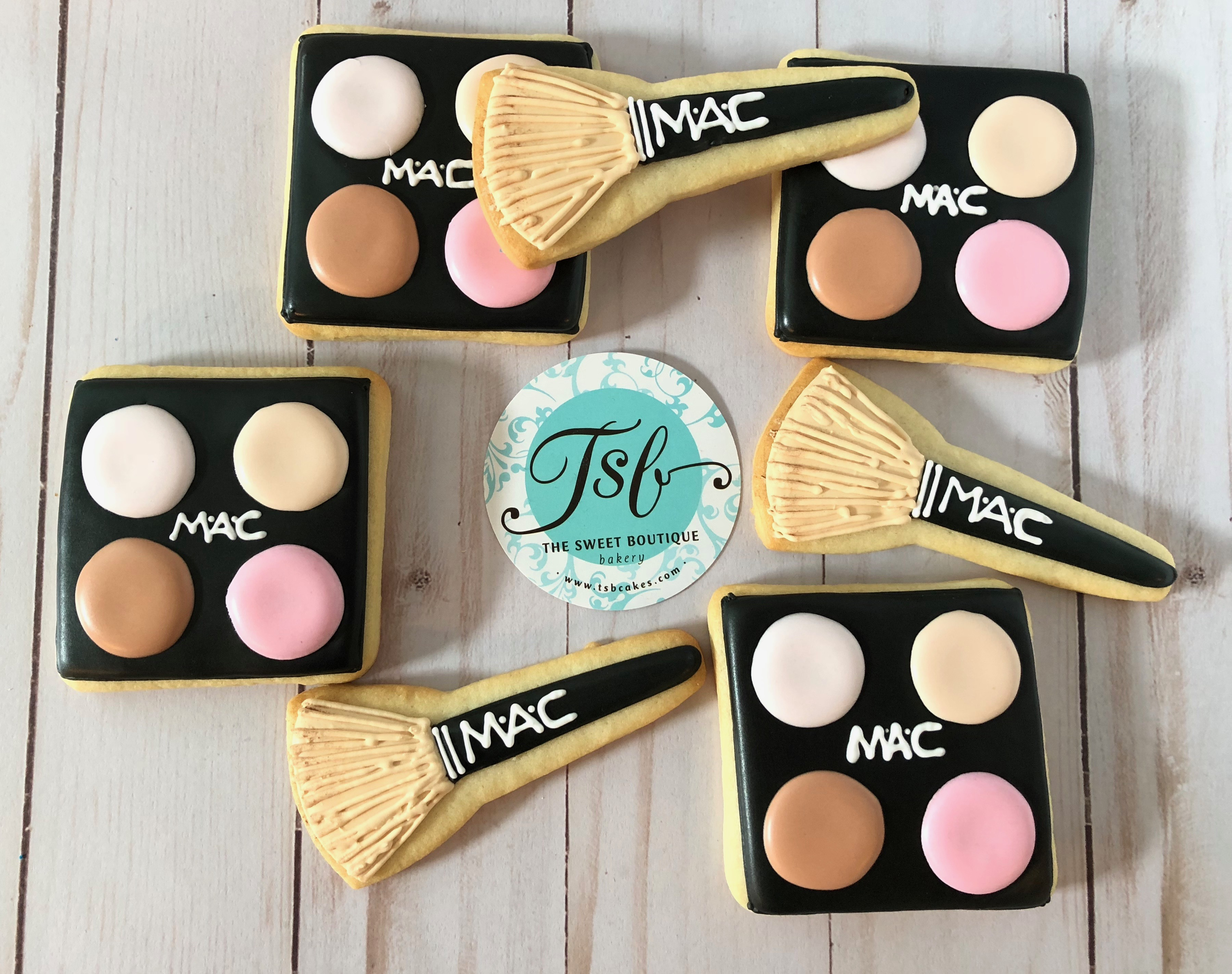 MAC Makeup Cookies