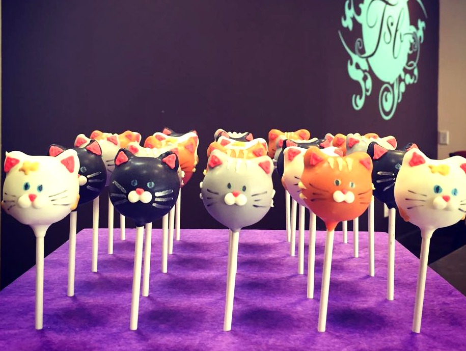 Cat Cakepops