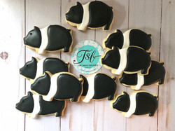 New Hampshire Pig Cookies