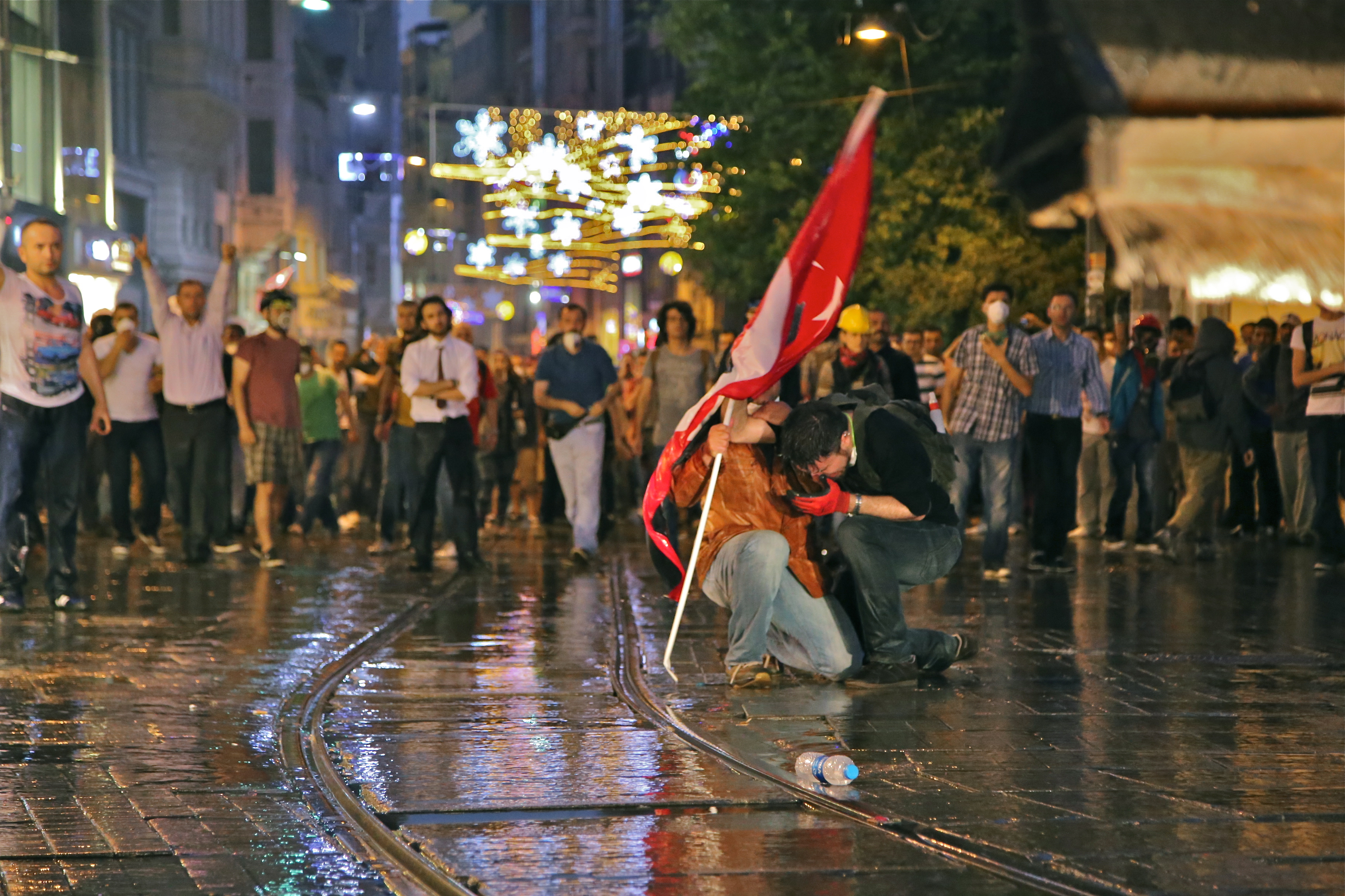 Gezi Protest, Istanbul
