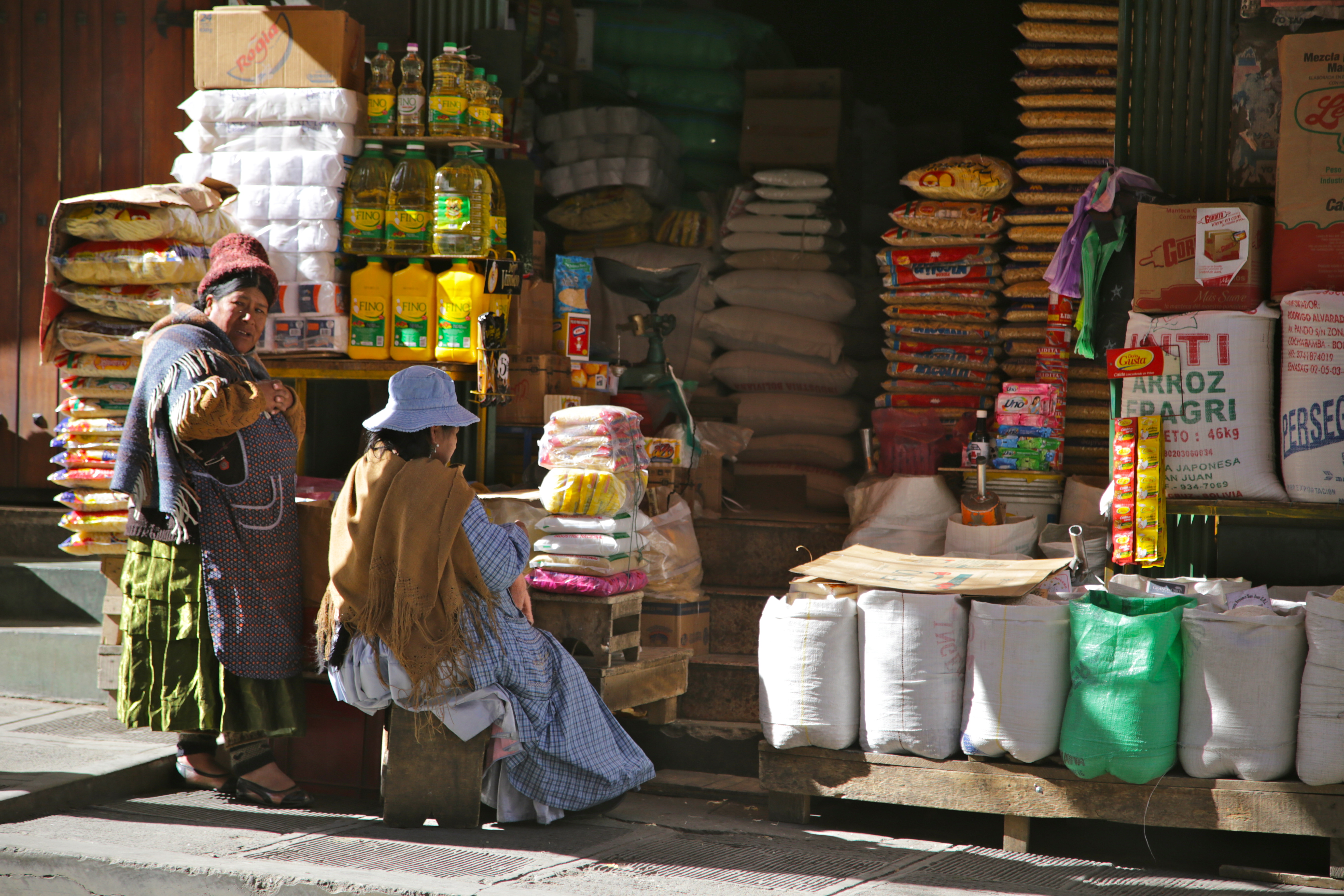 La Paz, market, Bolivia