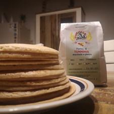 Pancakes con farina di grano Timilia