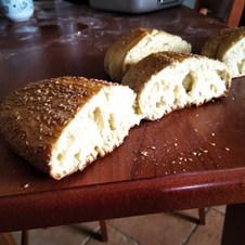 Pane con semola di Perciasacchi e Margherito