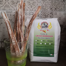 Grissini farina di grano Khorasan