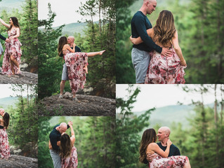 JESSICA AND MATT'S WATERFALL ENGAGEMENT